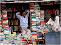 Bookstall and booksellers
